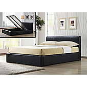 "Altruna Ottoman Storage Bed Frame - Double (4' 6"")"
