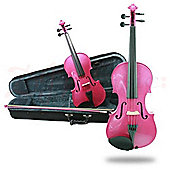 Fantasia Violin Outfit - Pink 1/2 Size