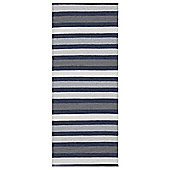 Swedy Baia Blue Rug - 60 cm x 90 cm (2 ft x 2 ft 11 in)