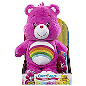 Care Bears Medium Plush with DVD - Cheer Bear