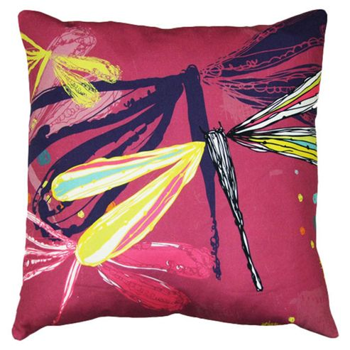 Artistic Britain Dragonfly Dreams Printed Cushion
