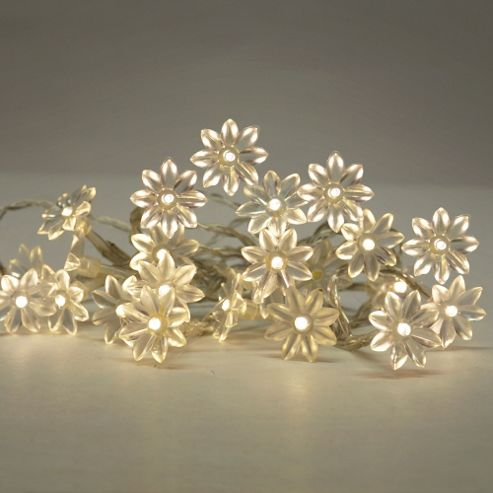Buy Sunflower 20 LED Battery Operated String Lights Warm White from our Novelty Lighting range ...