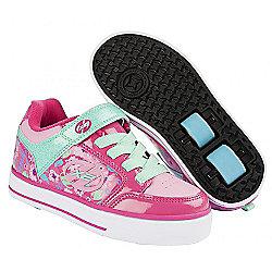 Heelys Thunder Berry/Light Pink/Mint X2 Heely Shoe - JNR 13