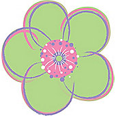 Wallpops Poppies Dot Wall Stickers - Green
