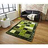 Oriental Carpets & Rugs Noble House Green Tufted Rug - 170cm L x 120cm W