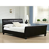 "Altruna Winchester Bed Frame - Double (4' 6"") - Brown"