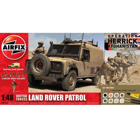 Airfix Landrover Patrol Gift Set
