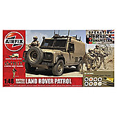Airfix Land Rover Patrol 1:48 Scale Model Set
