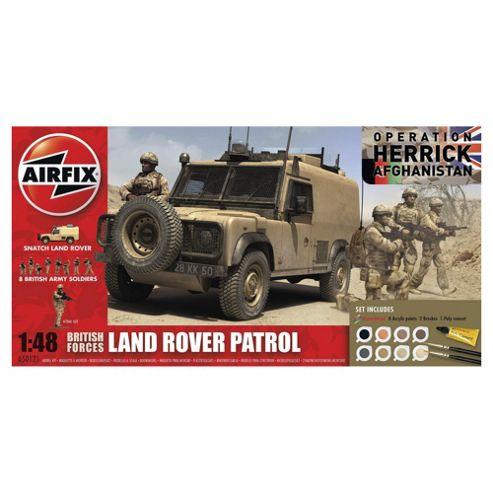 Airfix Land Rover Patrol 1:48 Scale Model Set