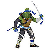 Teenage Mutant Ninja Turtles Movie 2 Super Deluxe Leo Action Figure