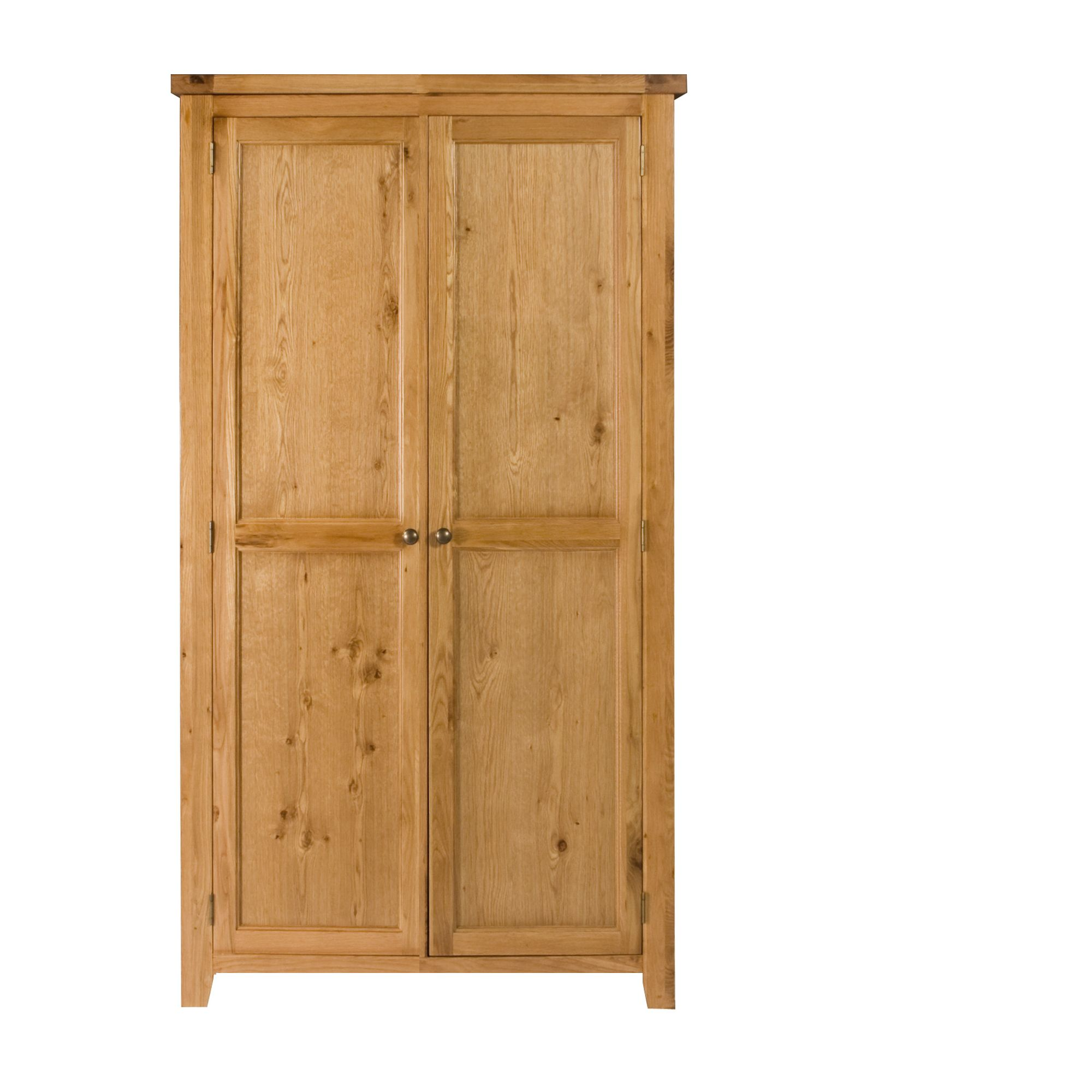 Elements Ludmilla Ladies Two Door Wardrobe in Warm Lacquer at Tesco Direct