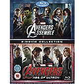 Avengers Age Of Ultron/Avengers Assemble Blu-Ray