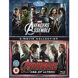 Avengers Age Of Ultron/Avengers Assemble Blu-Ray