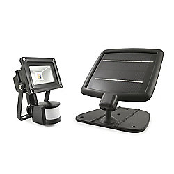 EVO SMD Solar Security Light - Black