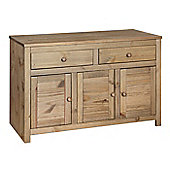 Home Essence Corona Medium Sideboard in Solid Pine