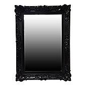 Alterton Furniture Swept Frame Mirror - Matte Black