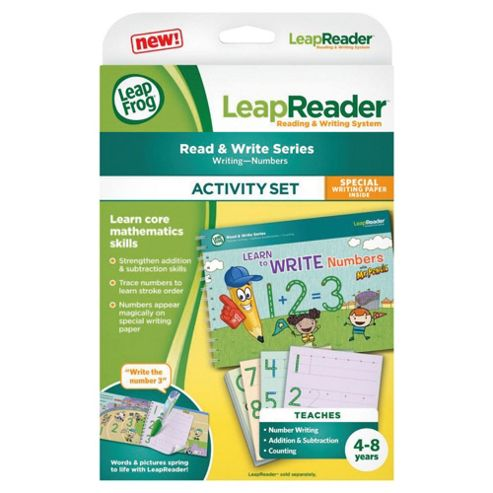 LeapFrog LeapReader Book : Learn to Write Numbers with Mr Pencil