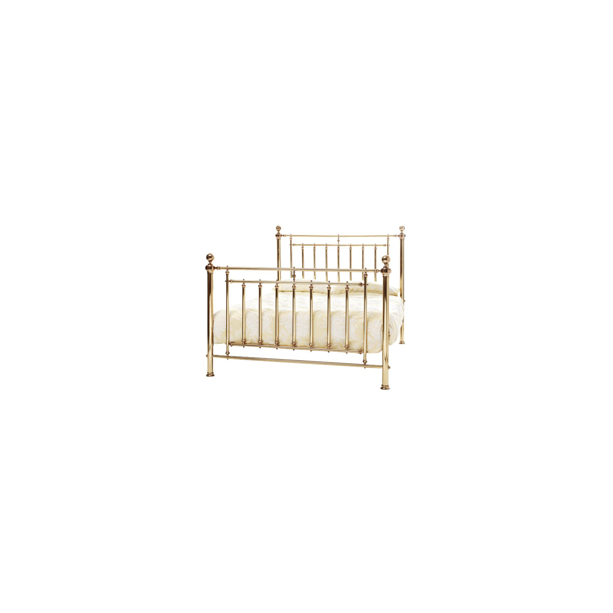 Serene Furnishings Solomon Bed - King - Brass at Tesco Direct