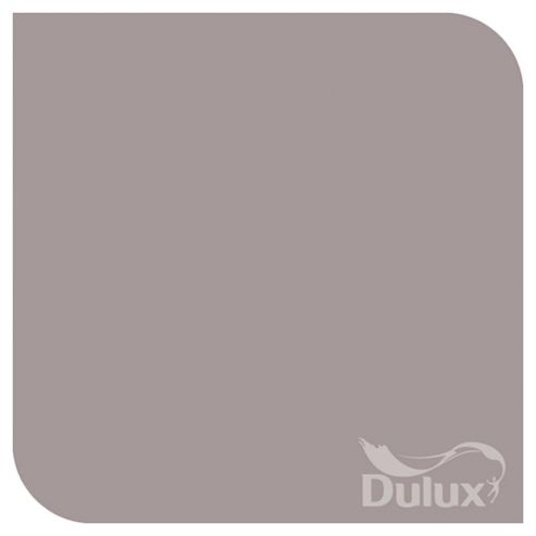 Dulux Silk Emulsion Paint, Dusted Damson, 2.5L