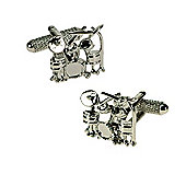 Drum Kit Novelty Themed Cufflinks