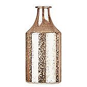 Glass Copper Small Vase