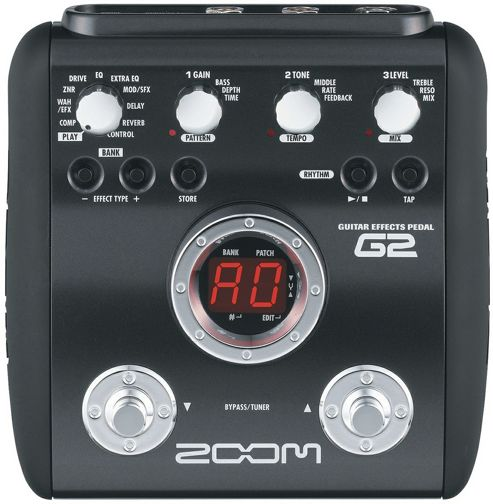 Zoom G1u Guitar Multi FX Pedal USB