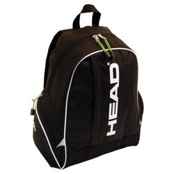 Head Antlantis Backpack, Black/White