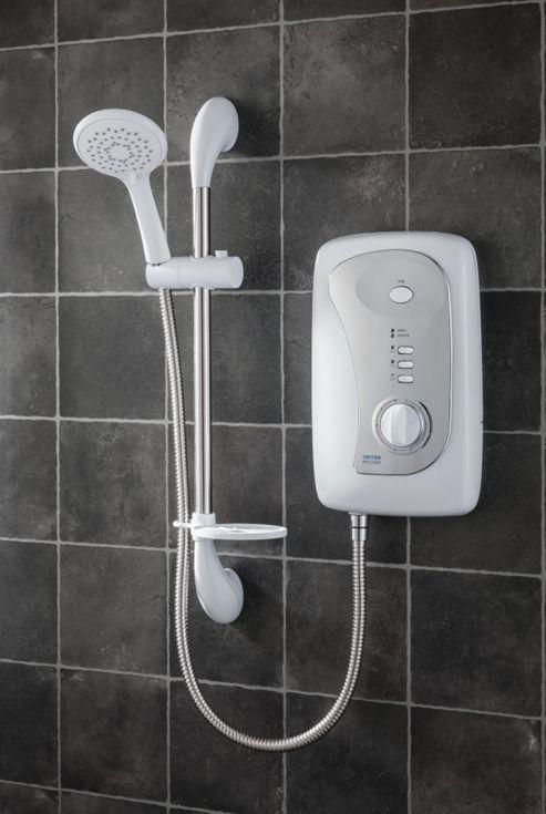Triton Showers Martinique 20.8 cm x 9.5 cm Electric Shower - 10.5 KW