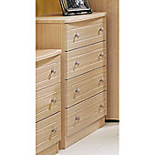 Welcome Furniture Warwick 4 Drawer Chest - Beech