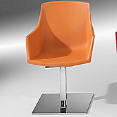 Redi Siza-CQ Chair by Plus Design - Orange