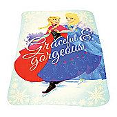 Disney Frozen Blue Fleece Blanket