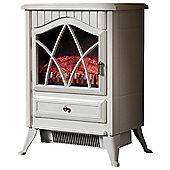 Fine Elements Small Stove Heater - Cream