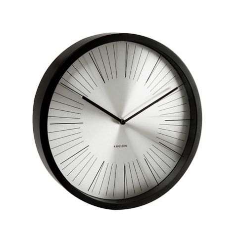 Buy Karlsson 50cm Wall Clock In Black From Our Clocks