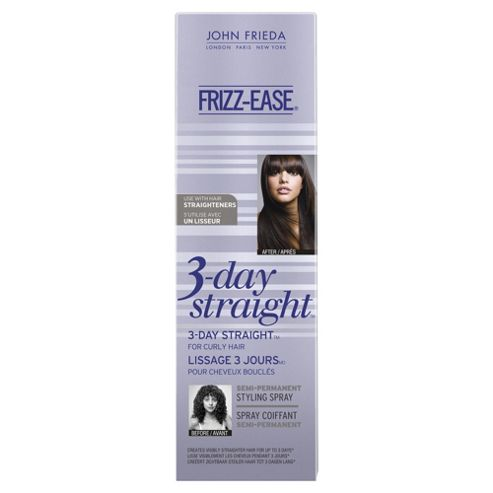 John Frieda Frizz Ease 3 Day Straight Semi Permanent Styling Spray 100ml