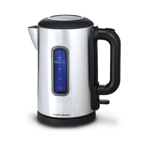 Morphy Richards Metallic Polished Jug Steel - 3000w, 1.7 Litres