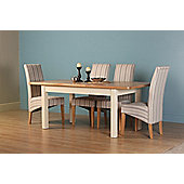 Altruna Rayleigh 5 Piece Extending Dining Set - Painted Cream