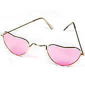 Heart Glasses - Pink
