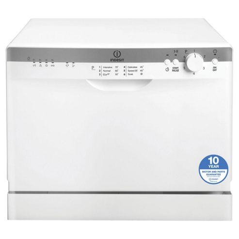 Indesit Dishwasher, ICD661, White