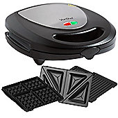 VonShef - Sandwich Press / Grill / Waffle Iron