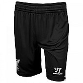 2013-14 Liverpool Goalkeeper Shorts (Black) - Kids