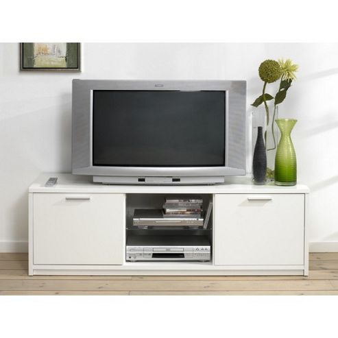 Tvilum Viiwa TV Stand with Two Open Shelves - Black Woodgrain