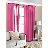 Slot Top Voile (Pair) - Pink