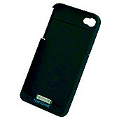 Tortoise™ Battery Case, iPhone 4/4S. Black.