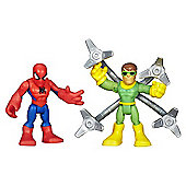 Playskool Super Hero Adventures Spider-Man and Doc Ock
