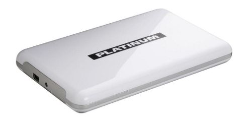 Platinum 103052 MyDrive 2.5-Inch 500GB - White