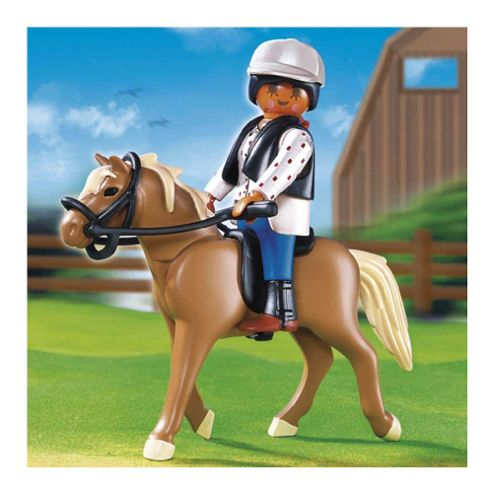 Playmobil - Riding School Horse with Stall 5109