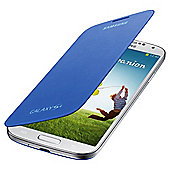 Samsung Original Flip Case for Samsung Galaxy S4 - Light Blue