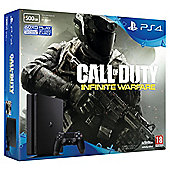 PS4 Slim 500GB Call of Duty Infinite Warfare Console Bundle Black (D Chassis)
