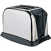 Sabichi Two Slice Stainless Steel Toaster