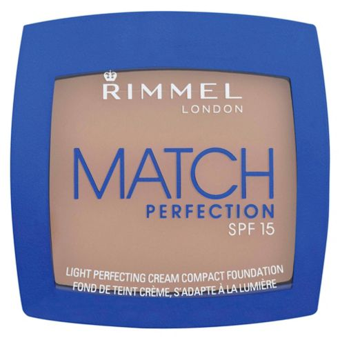 Rimmel MATCH PERFECTION CREAM COMPACT - SOFT BEIGE